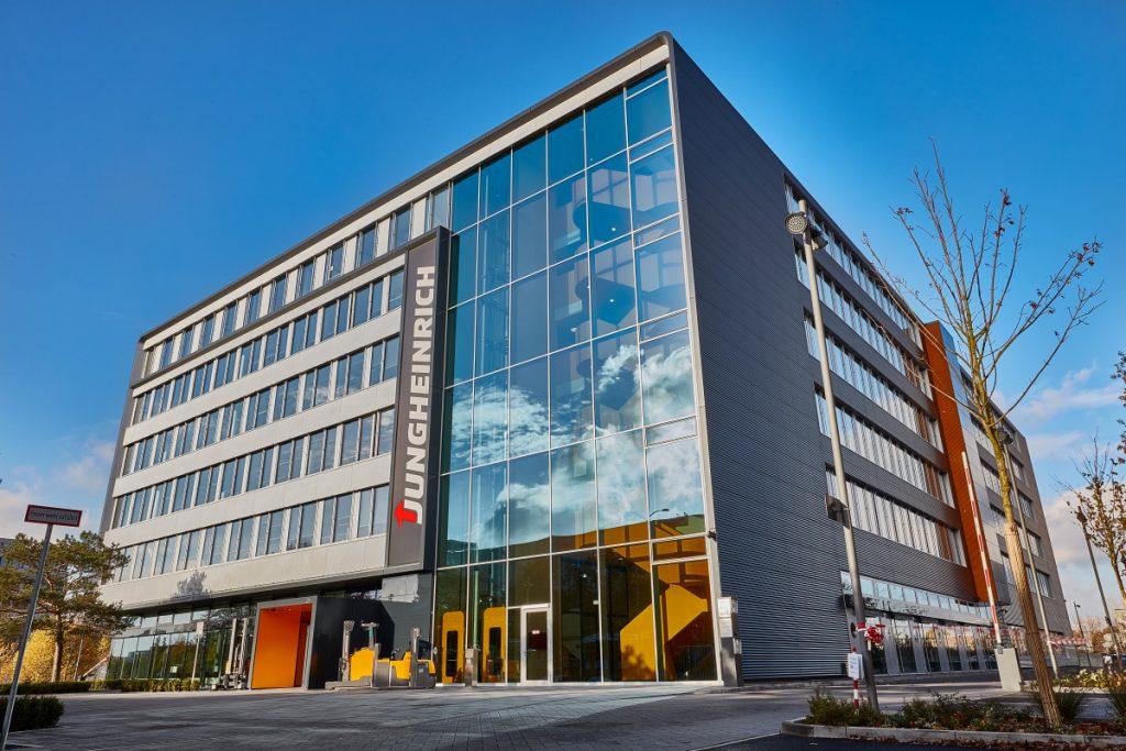 Jungheinrich Hamburg Sitz Unternehmenssitz Headquarters Office