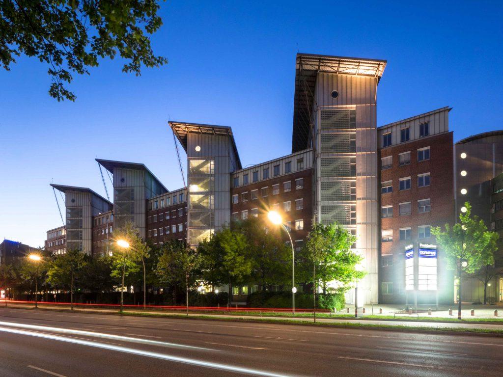 Olympus Hamburg Sitz Unternehmenssitz Headquarters Office