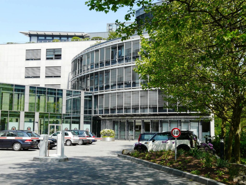 Tchibo Hamburg Sitz Unternehmenssitz Headquarters Office