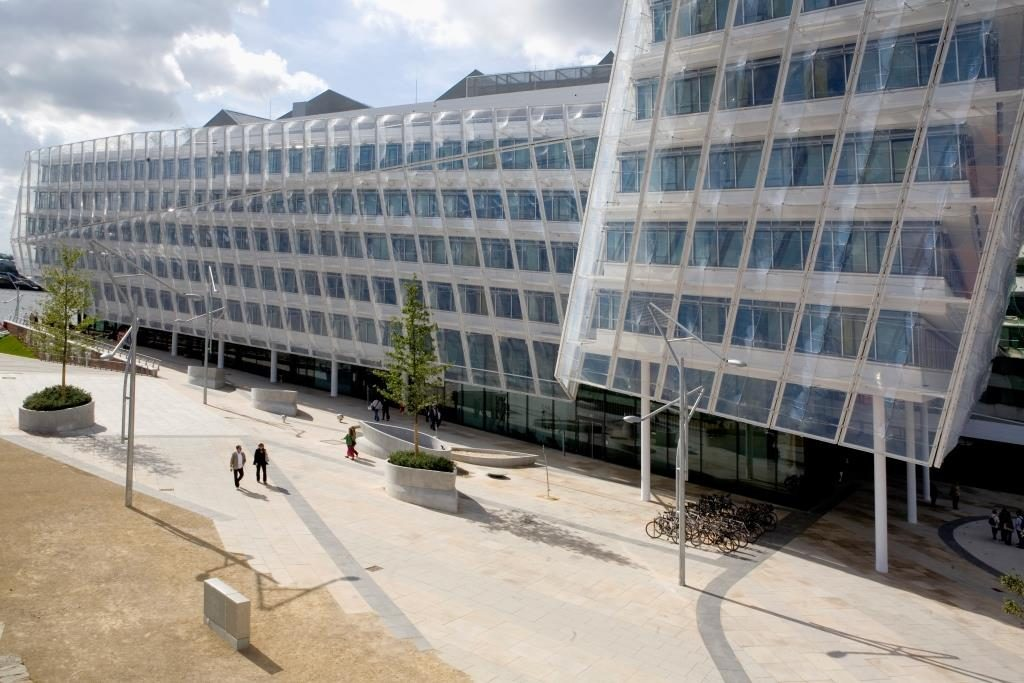 Unilever Hamburg Sitz Unternehmenssitz Headquarters Office