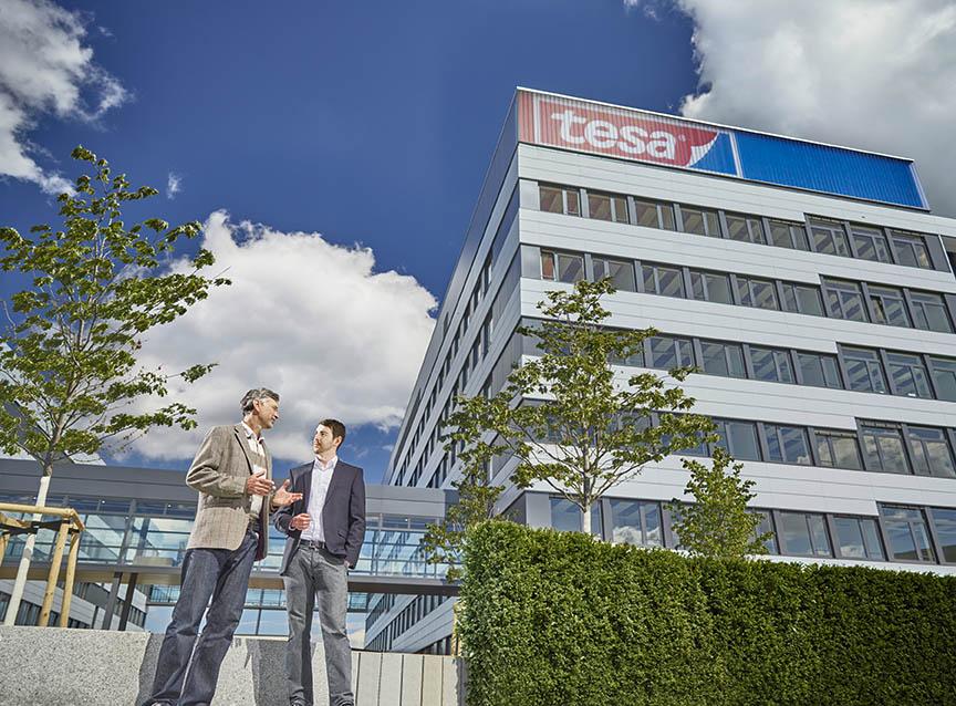 Tesa Hamburg Sitz Unternehmenssitz Headquarters Office